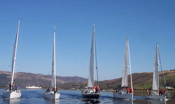 RYA Sailing Courses from ScotSail including Start Yachting, Competent Crew, Day Skipper, Yachtmaster Coastal Skipper and Yachtmaster Offshore