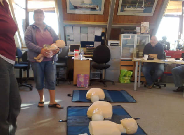 RYA Marine First Aid Courses in 2010 / 2011  from ScotSail at LargsCentre!