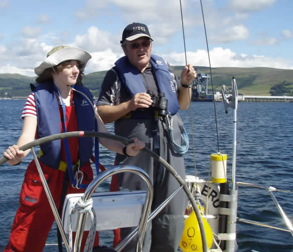 RYA Day Skipper Practical Sailing Courses in Scotland from ScotSail, LargsCentre, Largs Yacht Haven, Firth of Clyde.