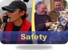 RYA Safety Courses, Diesel Engine, VHF DSC GMDSS Marine Radio License, First Aid Course, Largs, Scotland and Preston, Lancashire, England